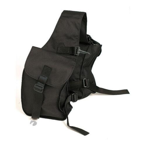 Zilco Pommel Saddle trekking Horse Trail Riding Bags black FREE POSTAGE