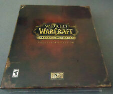 World of WarCraft Mists of Pandaria Collector's Edition  PC/MAC  WoW MoP C.E