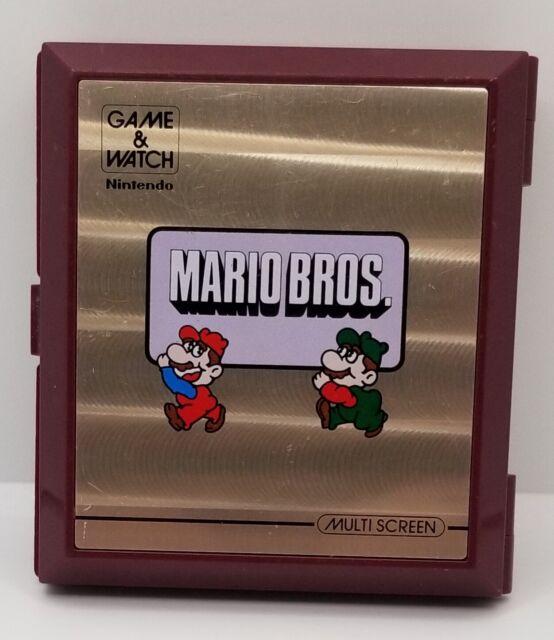 Nintendo MW56 Mario Bros. Game and Watch Multi Screen