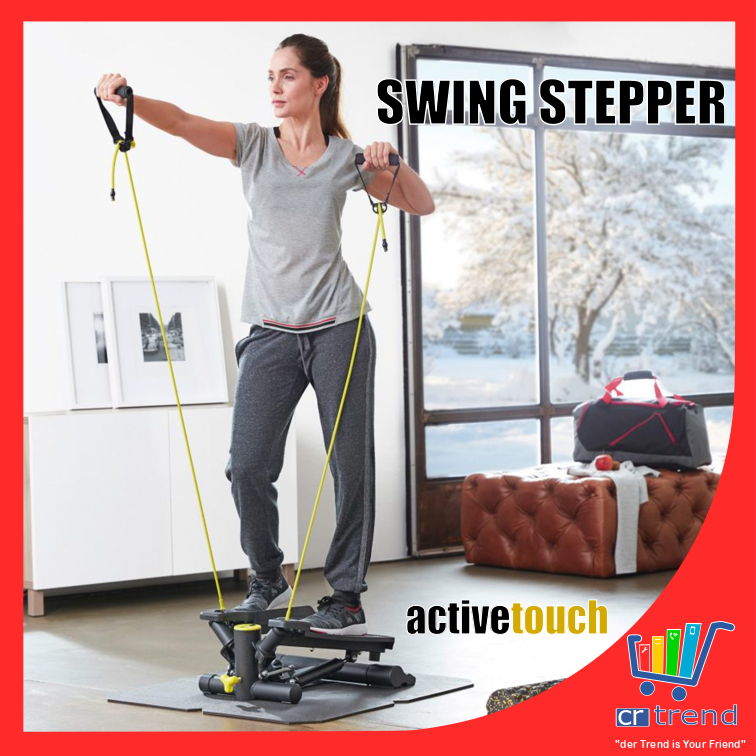 Active Touch Swing SWING Step Fitness Vélo d'appartement fitness Bandes SWING Swing Step WOW 326cd8