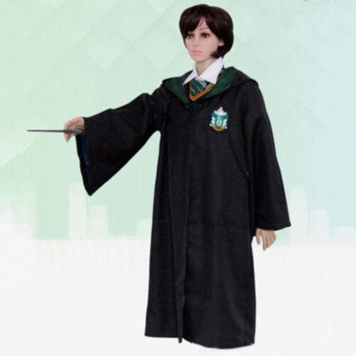 Harry Potter Cosplay Kostüm Umhang Gryffindor Hufflepuff Slytherin Ravenclaw