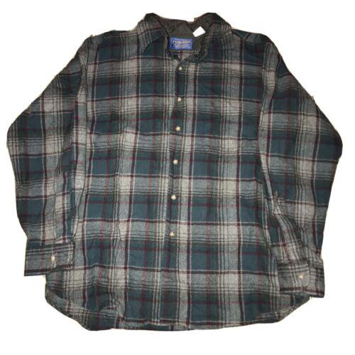 Vintage 90s Pendleton Board Shirt Flannel Grunge