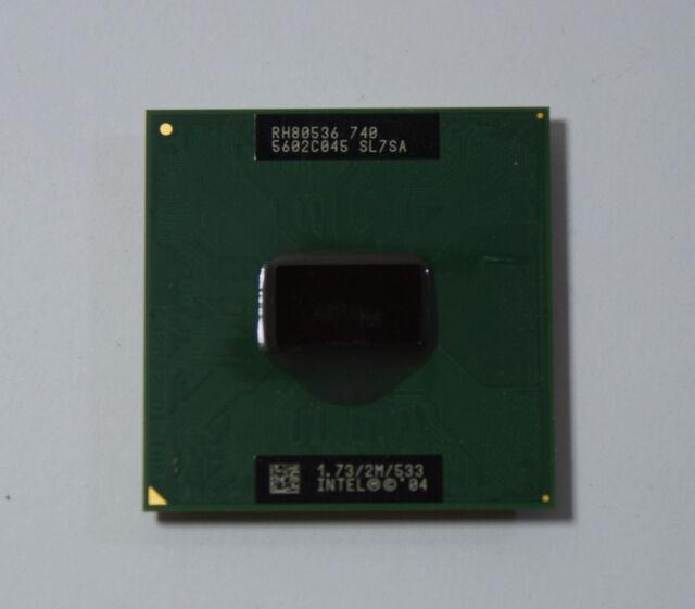 Intel Pentium M 740 1,73 GHz 1 RJ80536GE0302M SL7SA 1.73/2M/533 478Pin TOP!