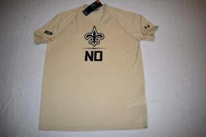 New-Orleans-Saints-Under-Armour-NFL-Combine-Authentic-T-Shirt-Mens-NWT