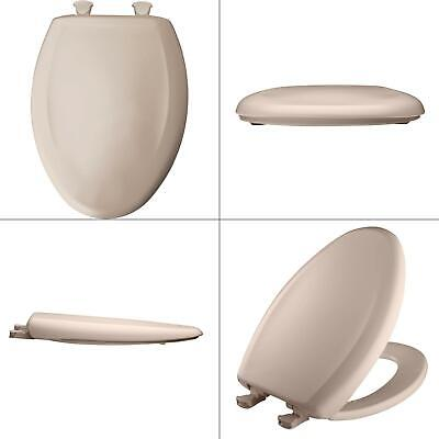 Astounding Slow Close Sta Tite Elongated Closed Front Toilet Seat In Innocent Blush Bemis 73088137265 Ebay Onthecornerstone Fun Painted Chair Ideas Images Onthecornerstoneorg