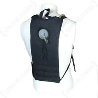 Molle 3l Water Pack With Straps - Black - Hiking Walking Utility Bag