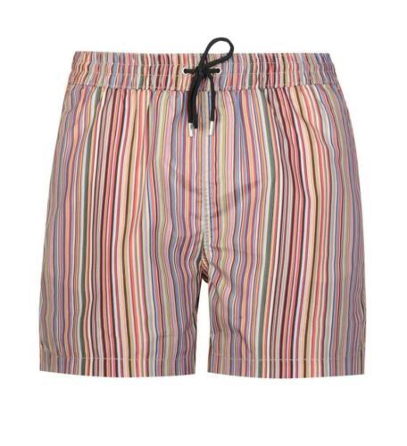 Paul Smith Men/'s /'Signature Stripe/' Print Swim Shorts
