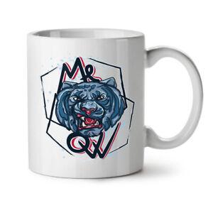 Meow Tiger Face NEW White Tea Coffee Mug 11 oz | Wellcoda