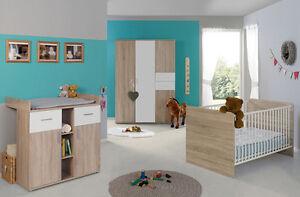 Babyzimmer Kinderzimmer Komplett Set Babymobel Komplettset Umbaubar