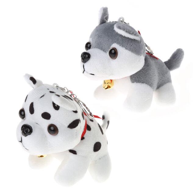 Cute Keychain Stuffed Dog Puppy Toys Cell Phone Chain Plush Husky Bag Pendant