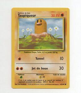 POKEMON BASE 1ed N°  47//102 TAUPIQUEUR