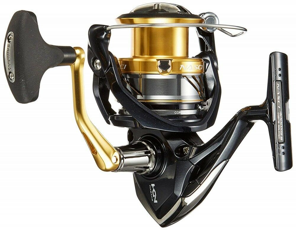 Shimano Spinning Reel Reel Spinning 16 NASCI (500-5000) New F/S from Japan 6485e7