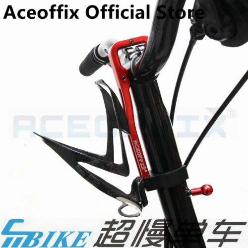 ACE Aluminium CNC Water Bottle Cage Stem Adaptor for Brompton Bicycle