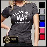 I Love My Man T-shirt, Wifey Tshirt, I Love My Husband Tee, Tops And Tees