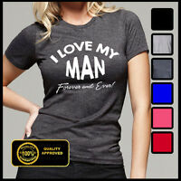 I Love My Man T-shirt, Wifey Tshirt, I Love My Husband Tee, Tops And Tees