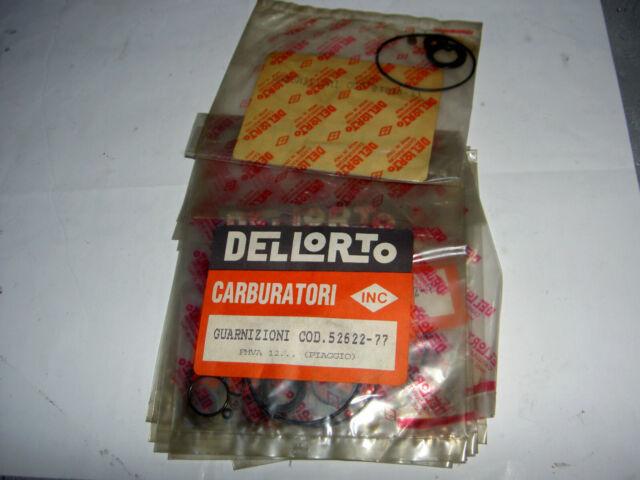 Dell'Orto Kit Joints Carburateur 52622-77 Phva B C D E H I L G M P Q R S T