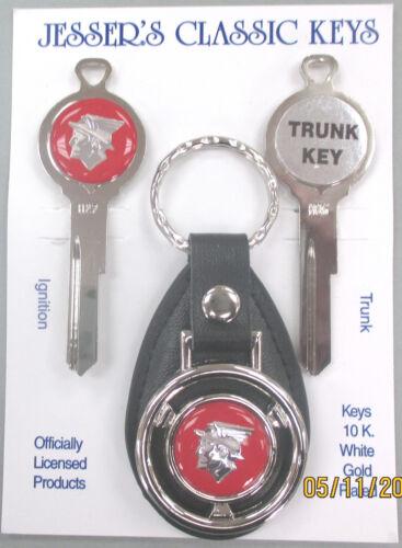 Red 1952 1953 1954 Mercury Messenger God Deluxe Classic White Gold Key Set Keys