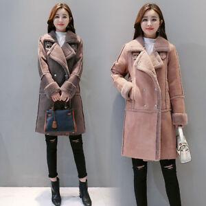 Fashion-Womens-Winter-Warm-Suede-Coat-Fleece-Overcoat-Thick-Jacket-Long-Parka