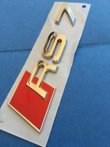 New Original A7 RS7 2011-2017 Chrome RS7 Trunk Badge Emblem 0.1oz8853740