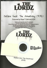 THE LORDZ of Brooklyn w/ TIM ARMSTRONG RANCID Outlaw PROMO DJ CD single 2007 USA
