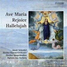 AVE MARIA, REJOICE, HALLELUJAH: Zurich Boys Choir; Mint Import CD + bonus CD OOP