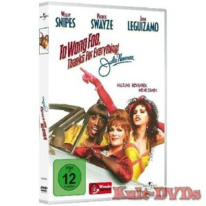 To-Wong-Foo-Thanks-for-Everything-DVD-Patrick-Swayze-Wesley-Snipes-Neu-OVP
