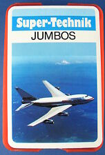 Quartett - JUMBOS - Sparkasse WERBEQUARTETT - Berliner Super-Technik - Flugzeuge
