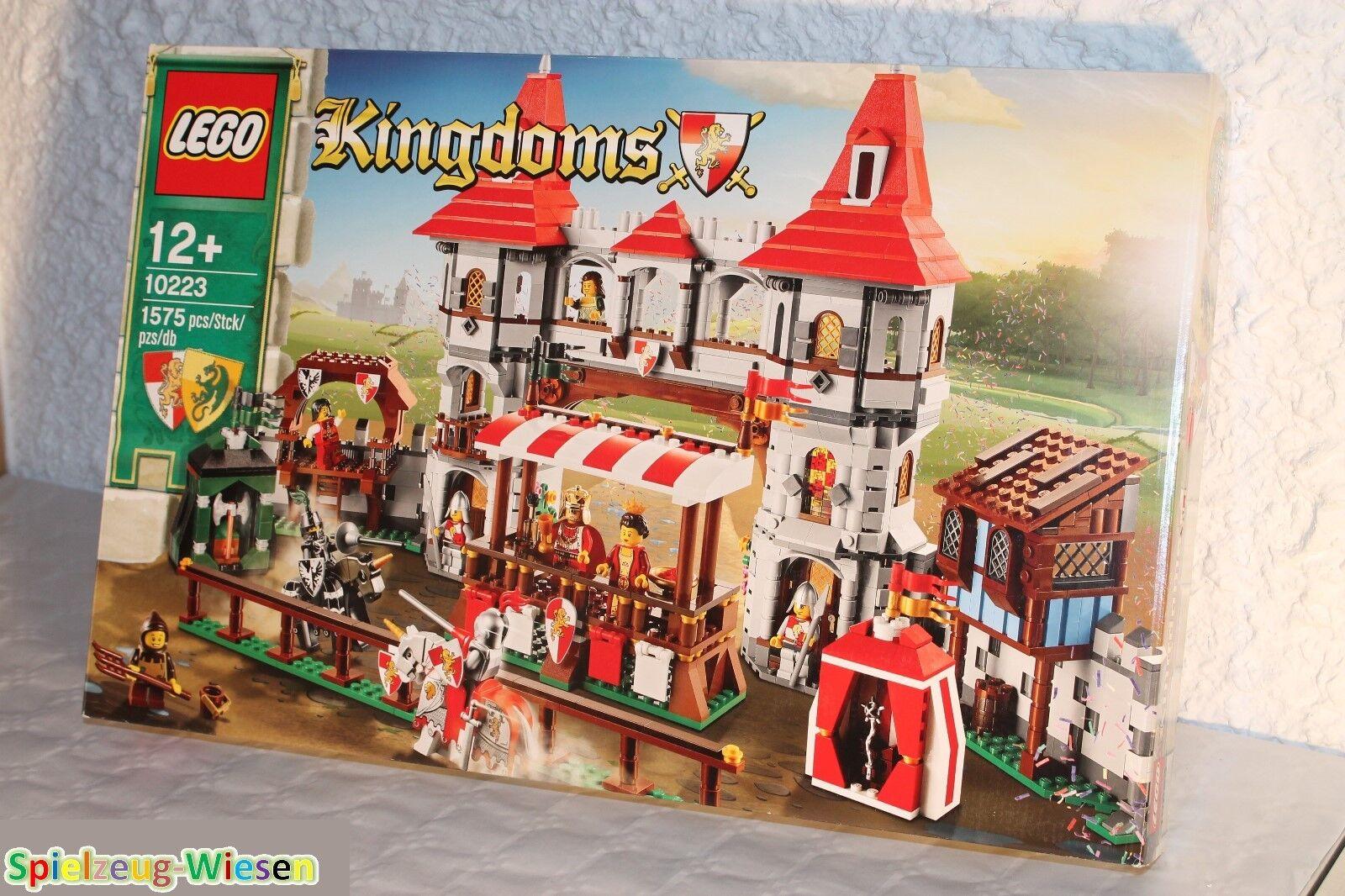 Lego  Castleserpentinos 10223 caballero torneo-nuevo con embalaje original -
