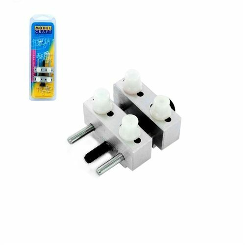 Mini Vice PVC1650 Non-Mar Plastic Pins Mounted in Hole of the Vice