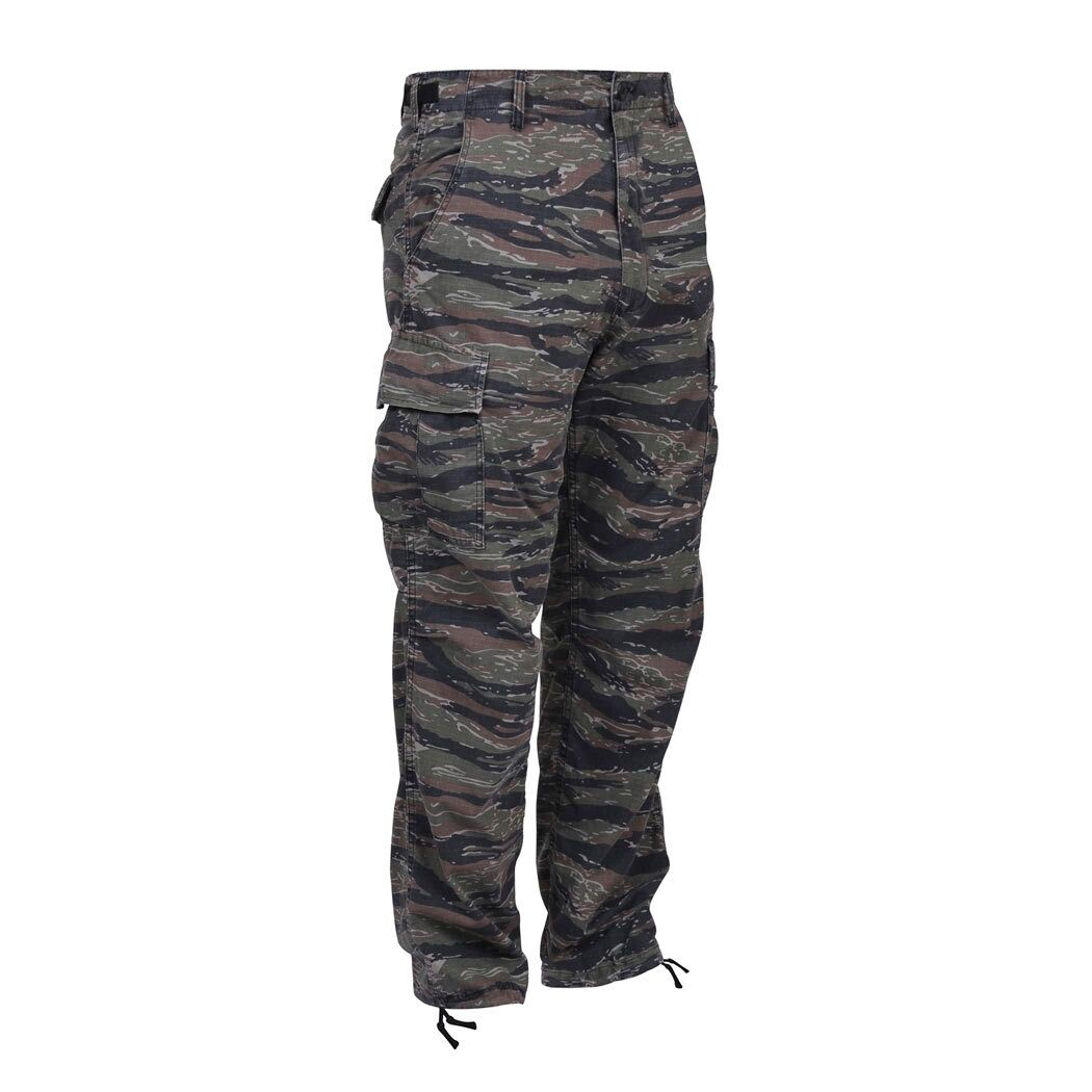 Tiger Stripe Camo Cargo Pants BDU Navy Seals Army Marines USAF Airsoft Paintball
