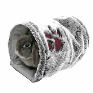 Rosewood-Reversible-Snuggle-Tunnel-For-Rabbits-Guinea-Pigs-Ferrets-Bed-Tunnel