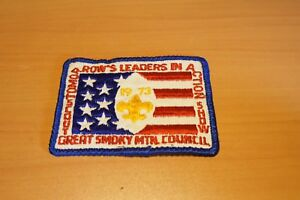 Vintage-Great-Smoky-Mountain-Council-Boy-Scouts-Of-America-Patch-1973-Scout-Show
