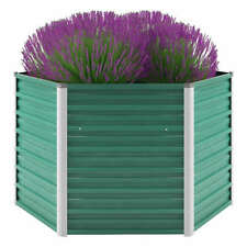 vidaXL Hochbeet Verzinkter Stahl Gemüsebeet Pflanzbeet Garten mehrere Auswahl SO