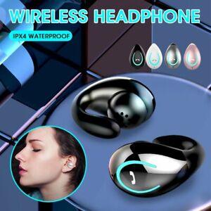 Wireless Earphone Bluetooth 5.0 Bone Conduction In-Ear Stereo Headset with Mic