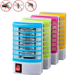 LED-Socket-Electric-Mosquito-Killer-Lights-Fly-Bug-Insect-Trap-Zapper-US-Plug