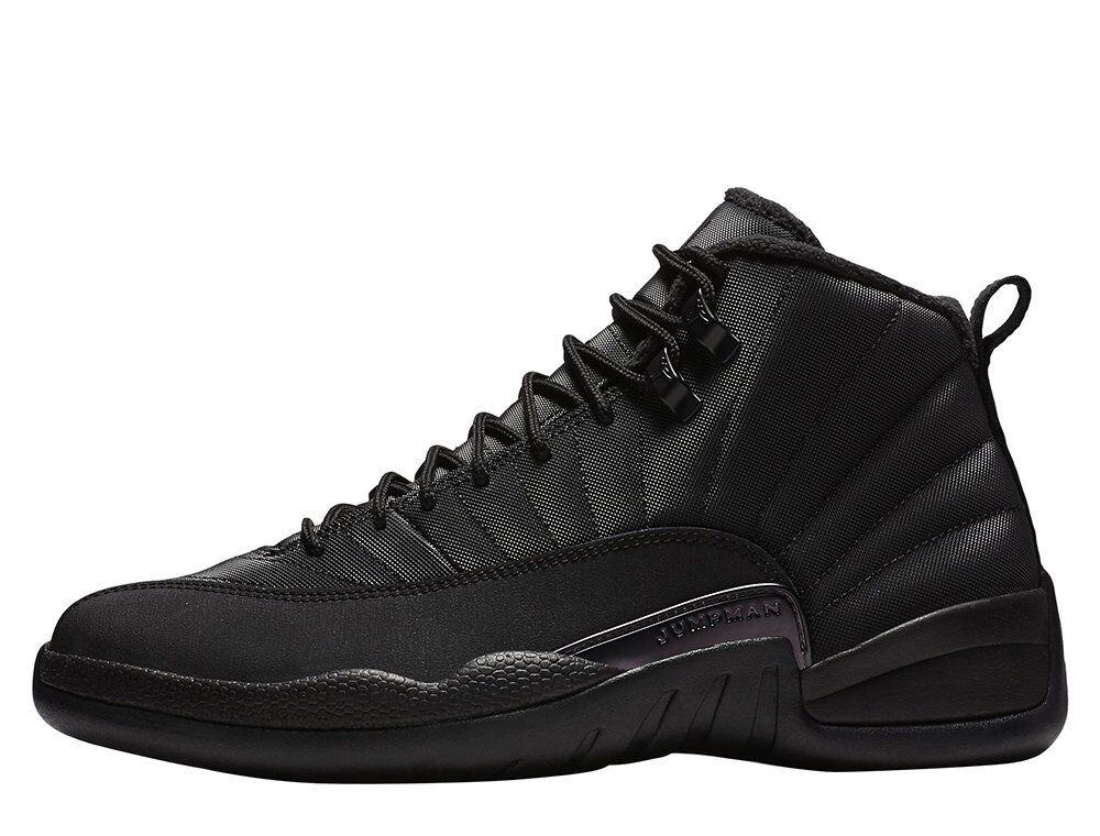Air Jordan 12 Retro WNTR Winterized BQ6851-001 BQ6851-001 BQ6851-001 Black Basketball shoes Boots 224584