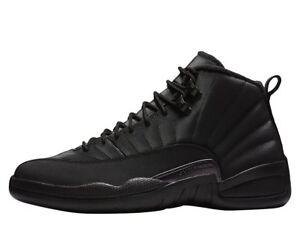 cb01a883b8b5e2 Air Jordan 12 Retro WNTR Winterized BQ6851-001 Black Basketball ...