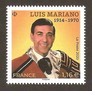 FRANCE-2020-NOUVEAU-Timbre-Luis-MARIANO-NEUF-LUXE-MNH