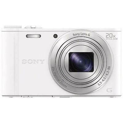 Sony Cyber-Shot DSC-WX350 18,2 MP Digitalkamera weiß NEU OVP
