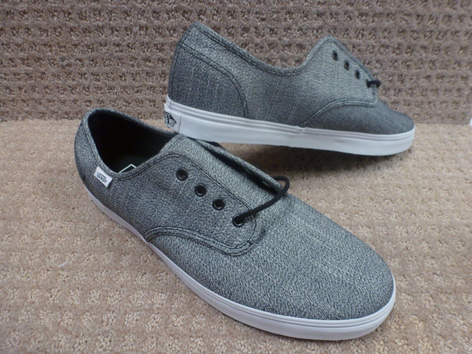 Vans Men's shoes  Madero  (Suiting Grindle) Black T , Size 12