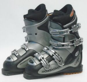 Used Ski Boots >> Details About Rossignol Open Xs Ski Boots Size 5 5 Mondo 23 5 Used