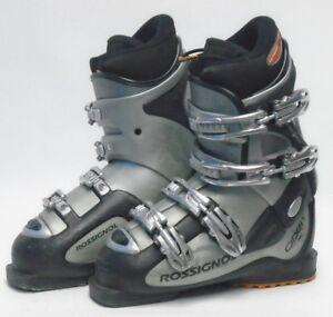 Used Ski Boots >> Rossignol Open Xs Ski Boots Size 5 5 Mondo 23 5 Used Ebay