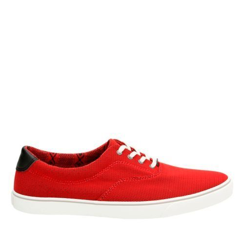 Carks Gosling Walk Red Men Canvas shoes  UK 12