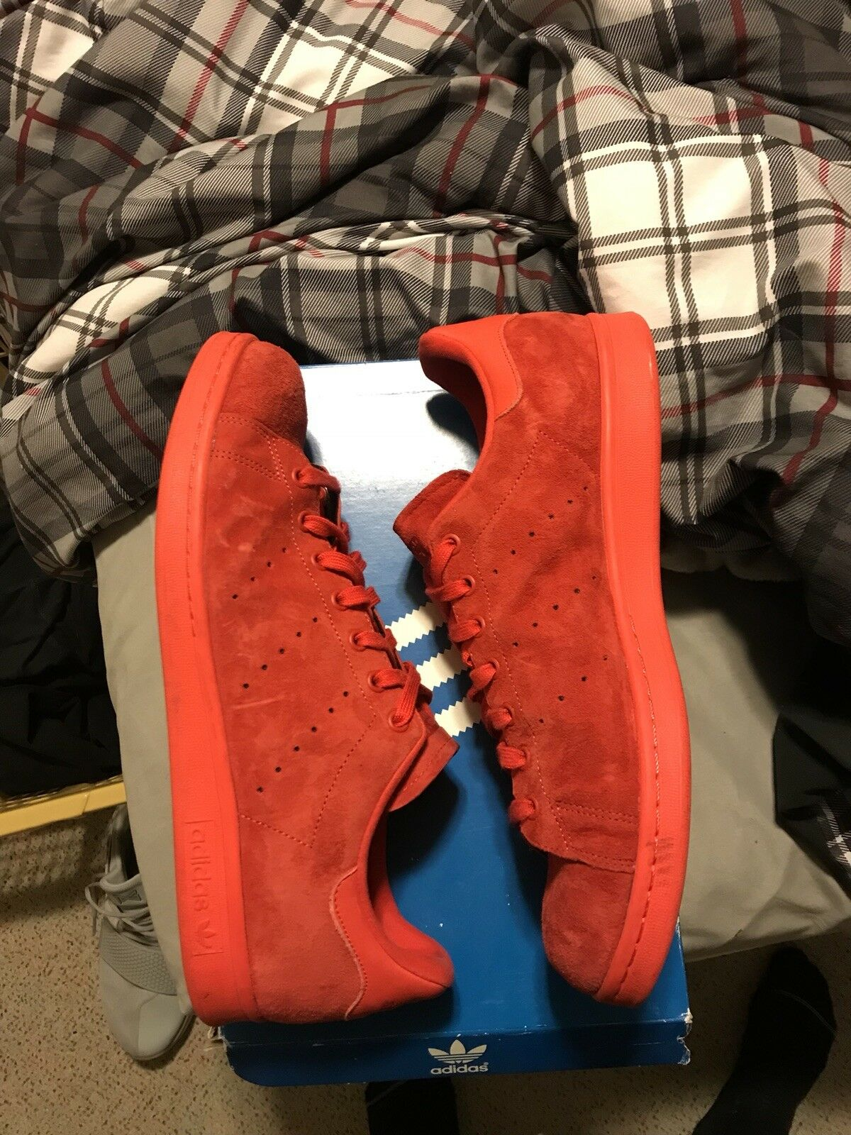 adidas stan smith red suede New shoes for men and women, limited time discount