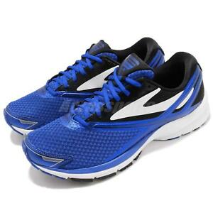 6007350b77c Brooks Launch 4 Blue White Black Men Running Training Shoes Sneakers ...