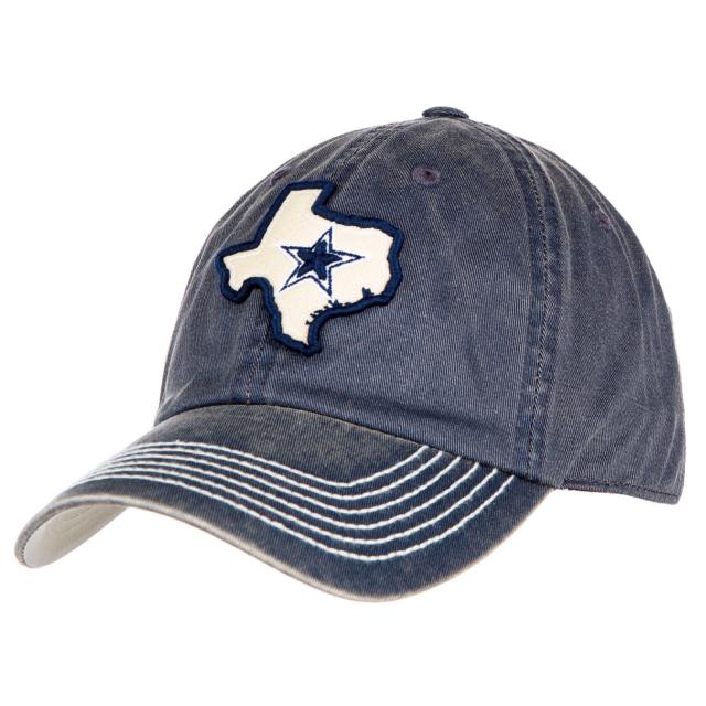 new product 0cd14 eefd5 Dallas Cowboys 2018 NFL DCM Vega II Blue White Texas Map Strapback Hat Cap