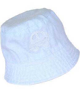 BabyPrem Baby Boys Sky Blue Bucket Hat Sun Hat Summer Hats Caps Age ... f3f99fe1809