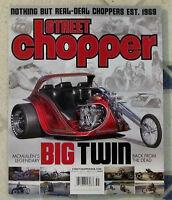Street Chopper Magazine Big Twin Mcmullen Legendary Bike Sailor Jerry Poster