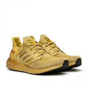 Details about adidas Ultra Boost 20 Gold Metallic Size 12.5. EG1343