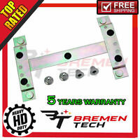 Front Or Rear License Plate Bracket With Four Chrome Cap Nuts For Volvo 30762264